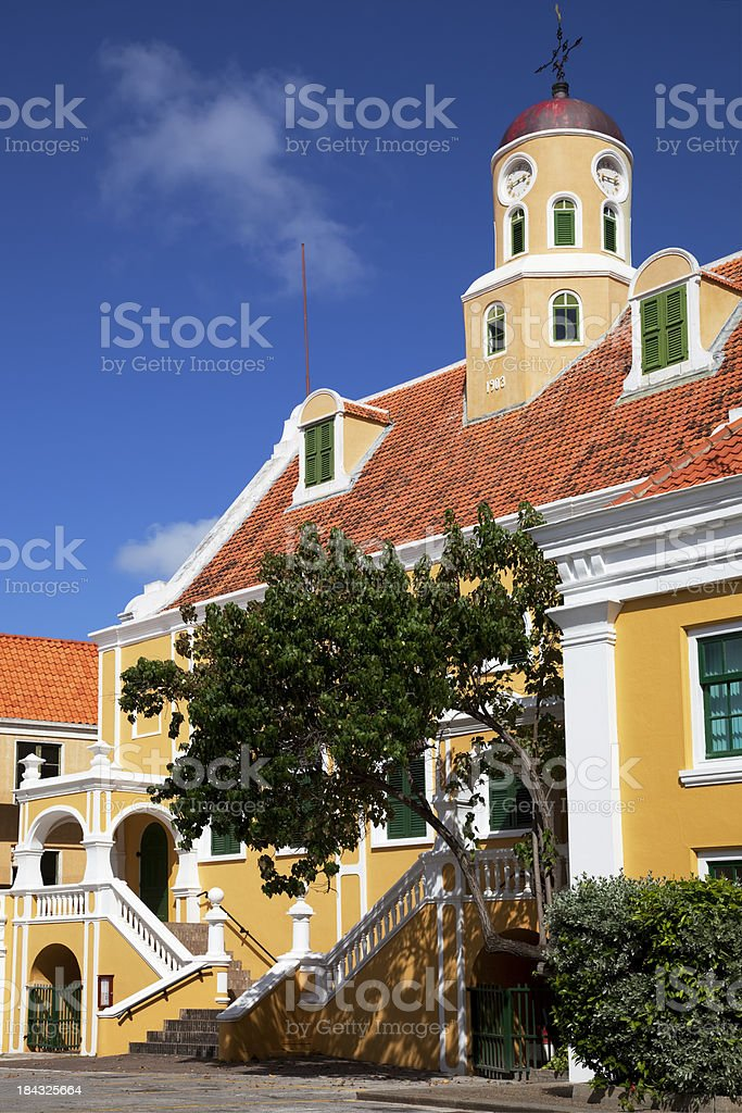 'Fort Curch, Willemstad, Curacao' stock photo