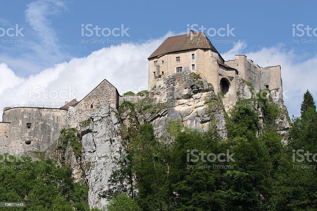 Fort de Joux in Franche Comt?, France stock photo
