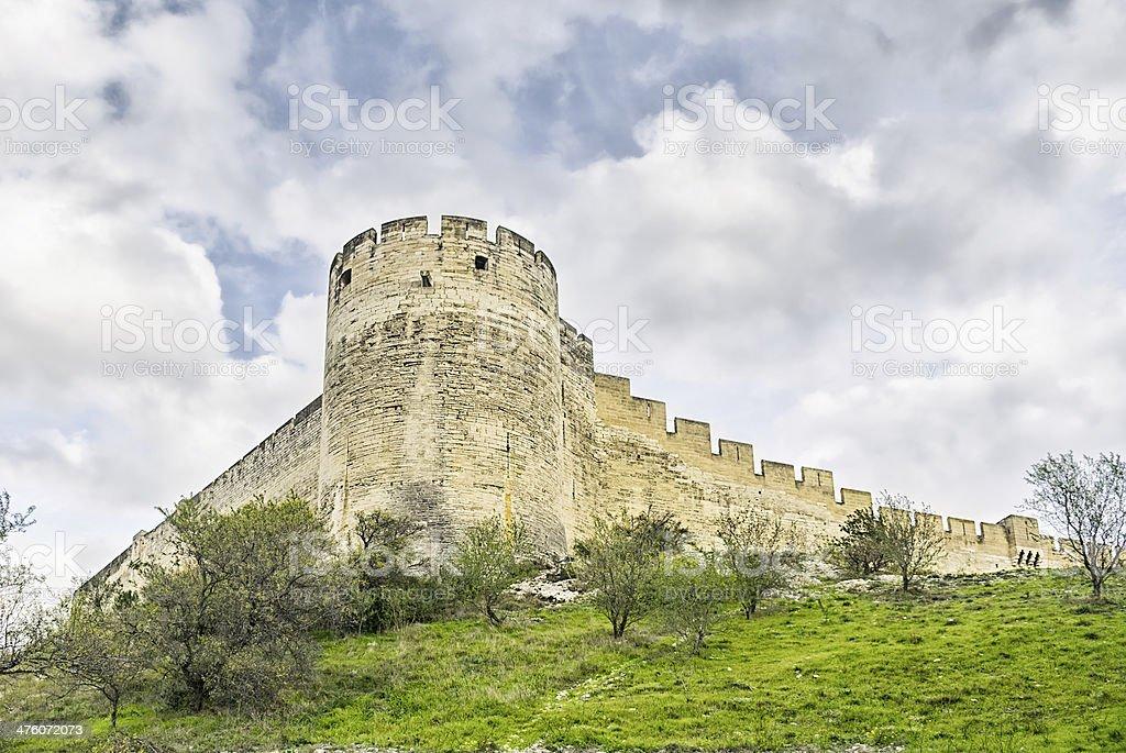 Fort de Villeneuve les Avignons stock photo