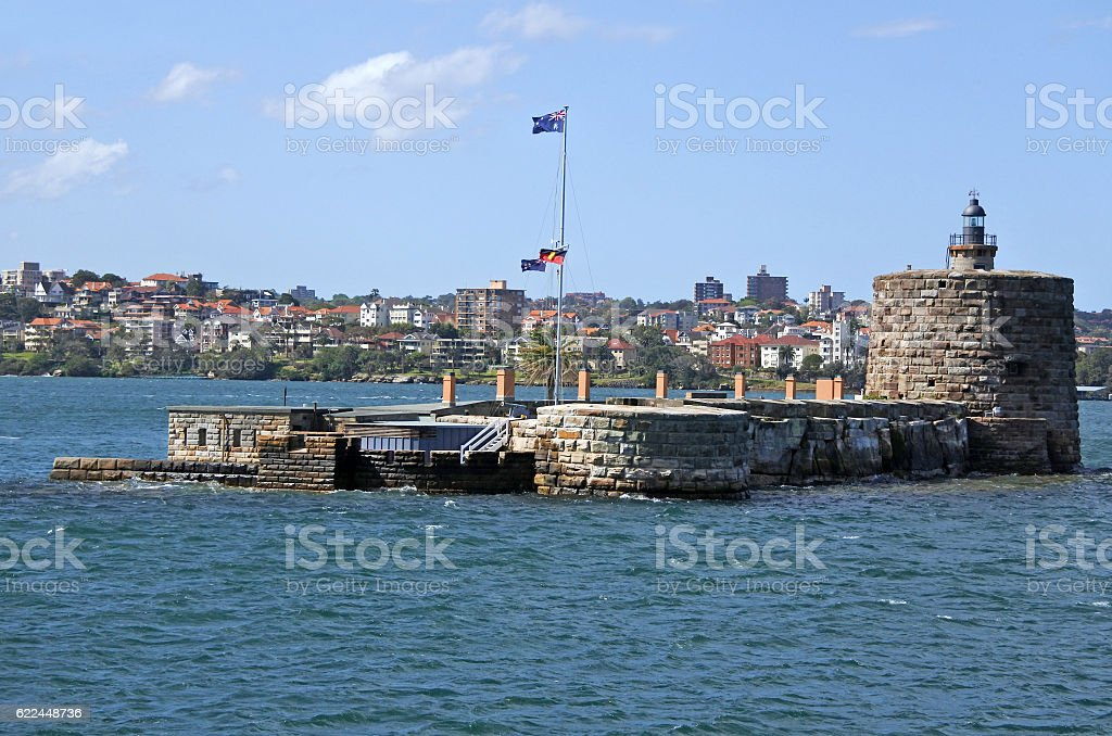 Fort Denison Sydney New South Wales Australia stock photo