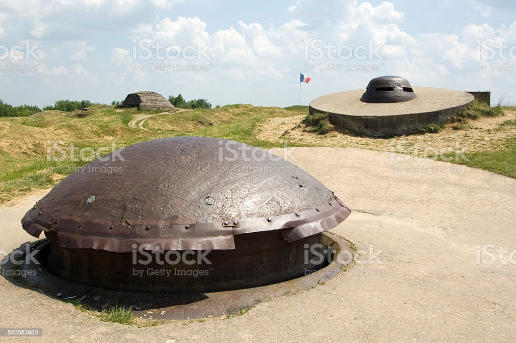 Fort Douaumont World War I Memorial Verdun France stock photo