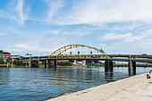 Fort Duquesne bridge over the Allegheny River