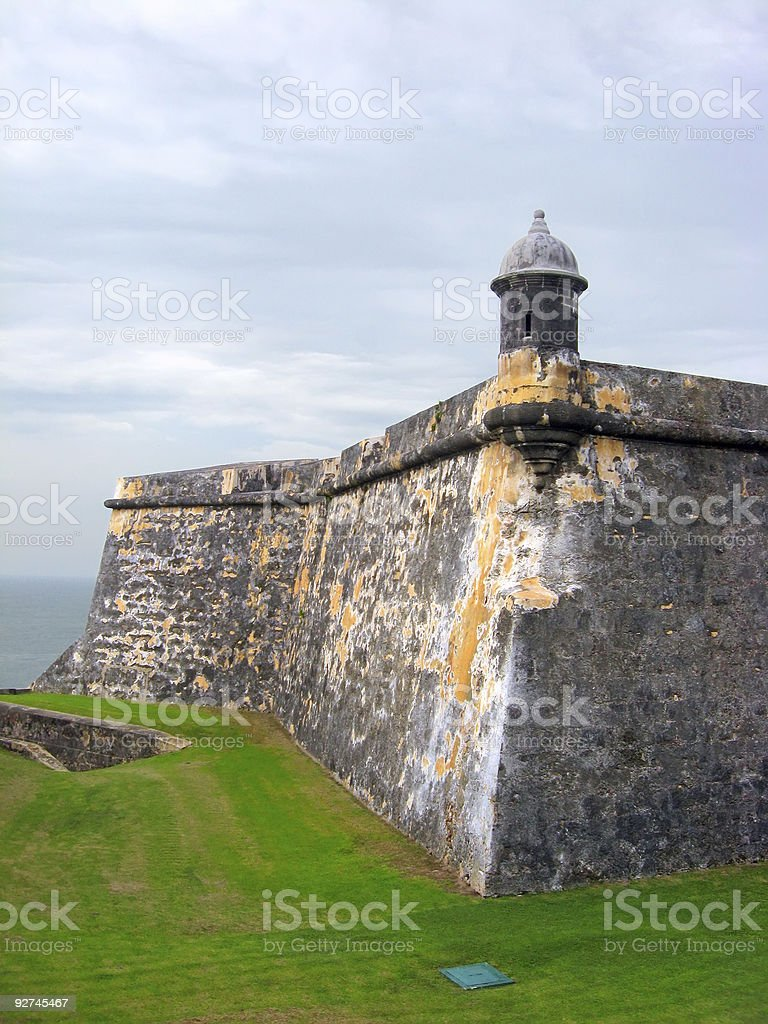 Fort El Morro stock photo
