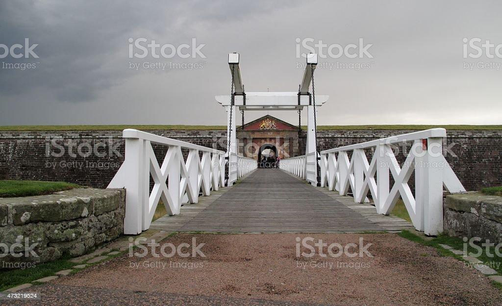 Fort George, Scottland stock photo