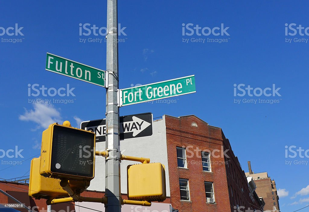 Fort Greene, Brooklyn stock photo