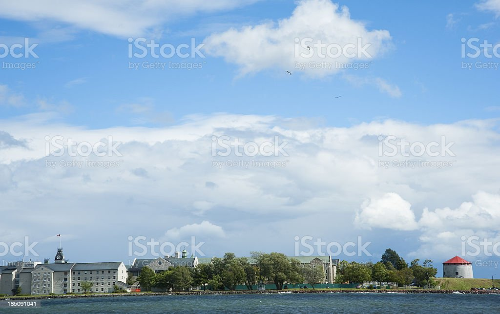 Fort Henry royalty-free stock photo