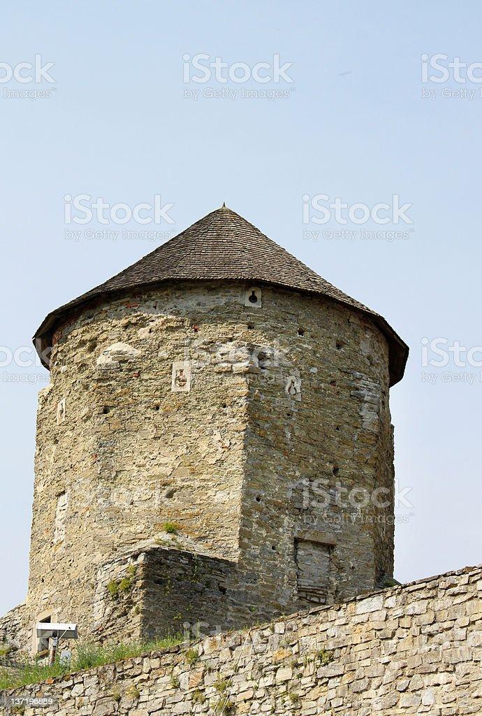 Fort in Kamjanets-Podolsk royalty-free stock photo