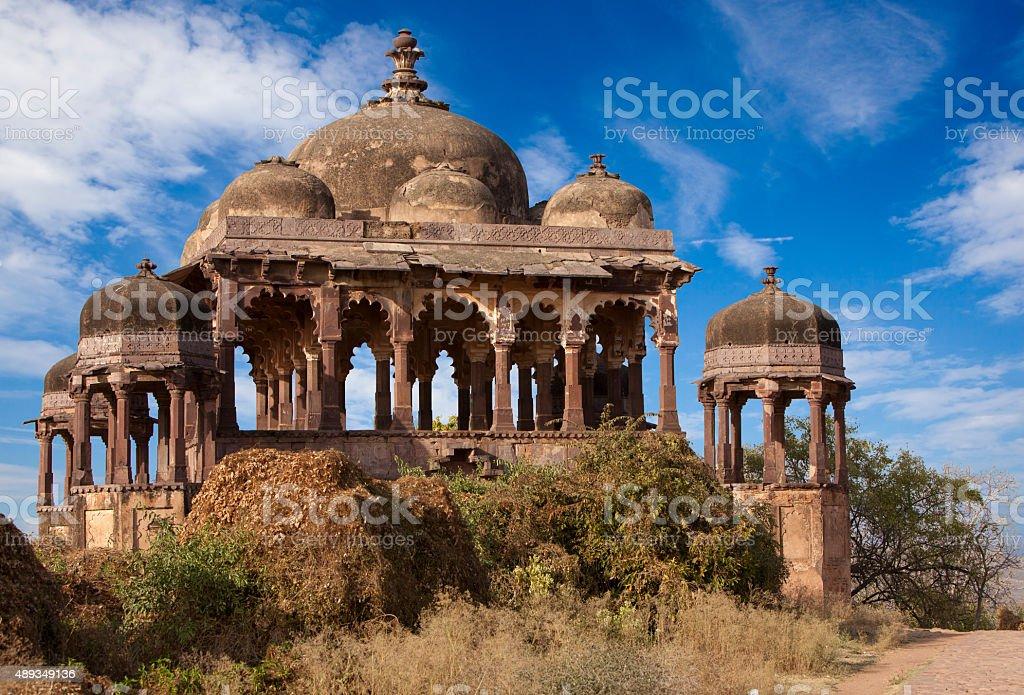 Fort in Ranthambhore National Park. stock photo