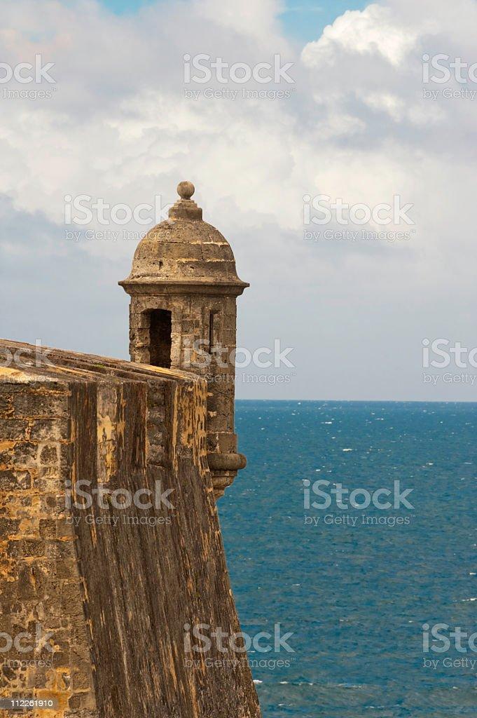 Fort in San Juan stock photo
