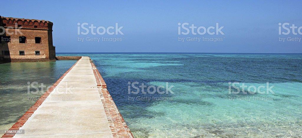 'Fort Jefferson, Dry Tortugas National Park, Florida' stock photo