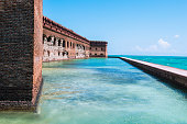 Fort Jefferson Military Fortress in the Dry Tortugas National Park