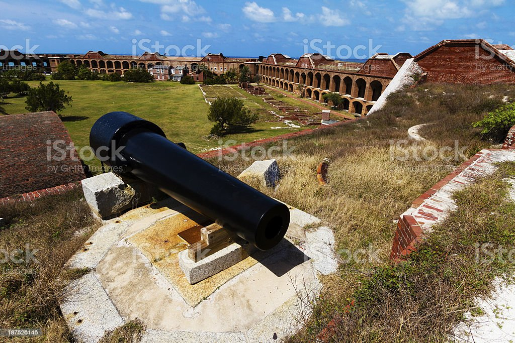 Fort Jefferson on Dry Tortugas, Florida, USA stock photo