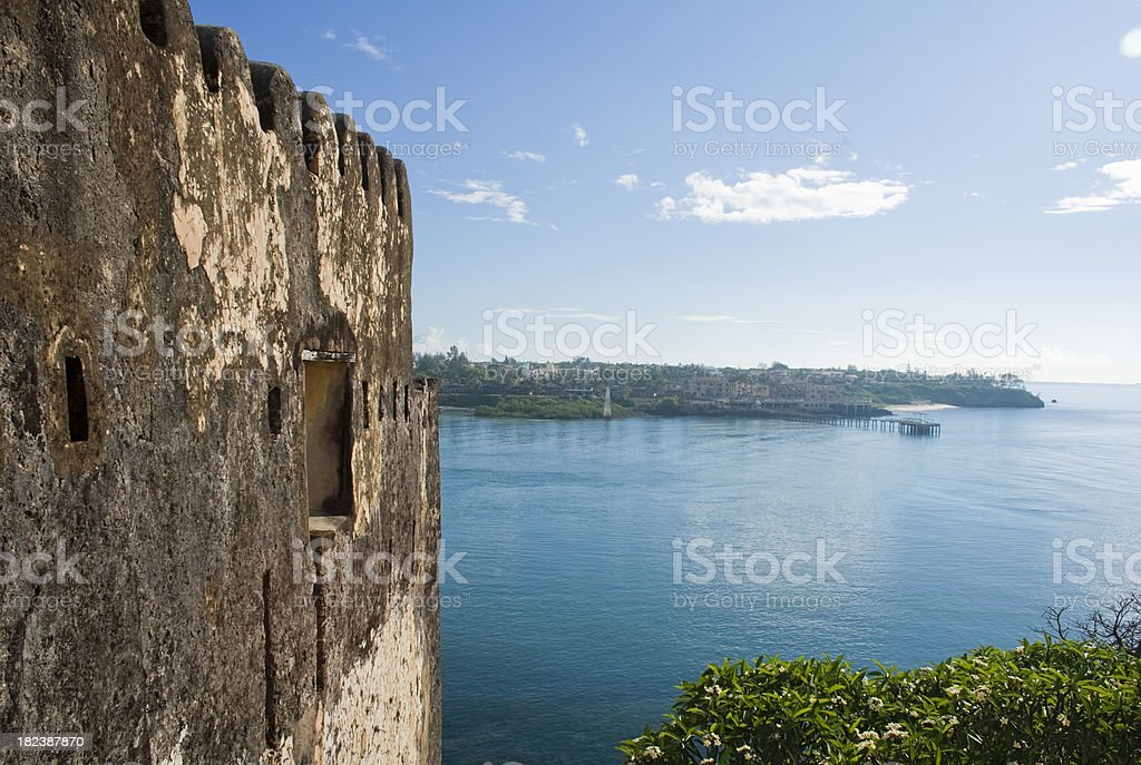Fort Jesus, Mombasa stock photo