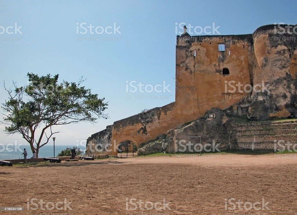 Fort Jesus - Mombasa stock photo
