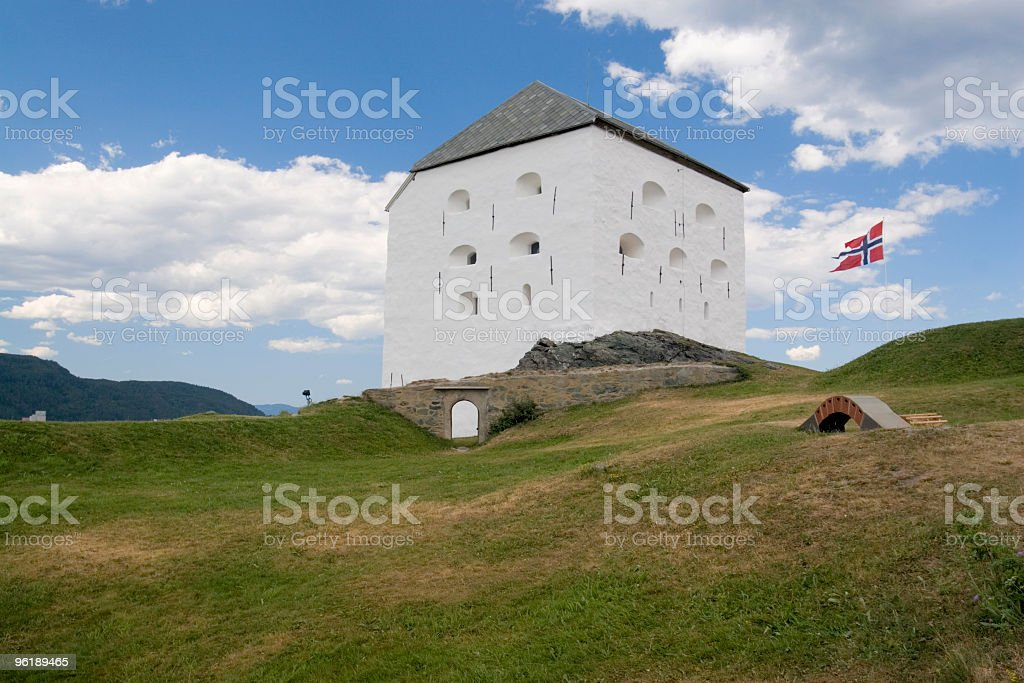 Fort Kristiansen stock photo
