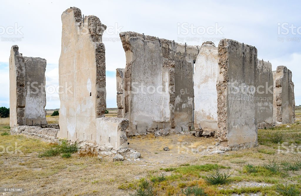 Fort Laramie National Historic Site stock photo