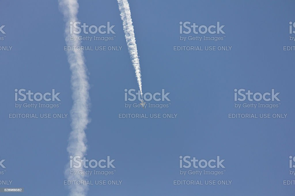 Fort Lauderdale air show stock photo