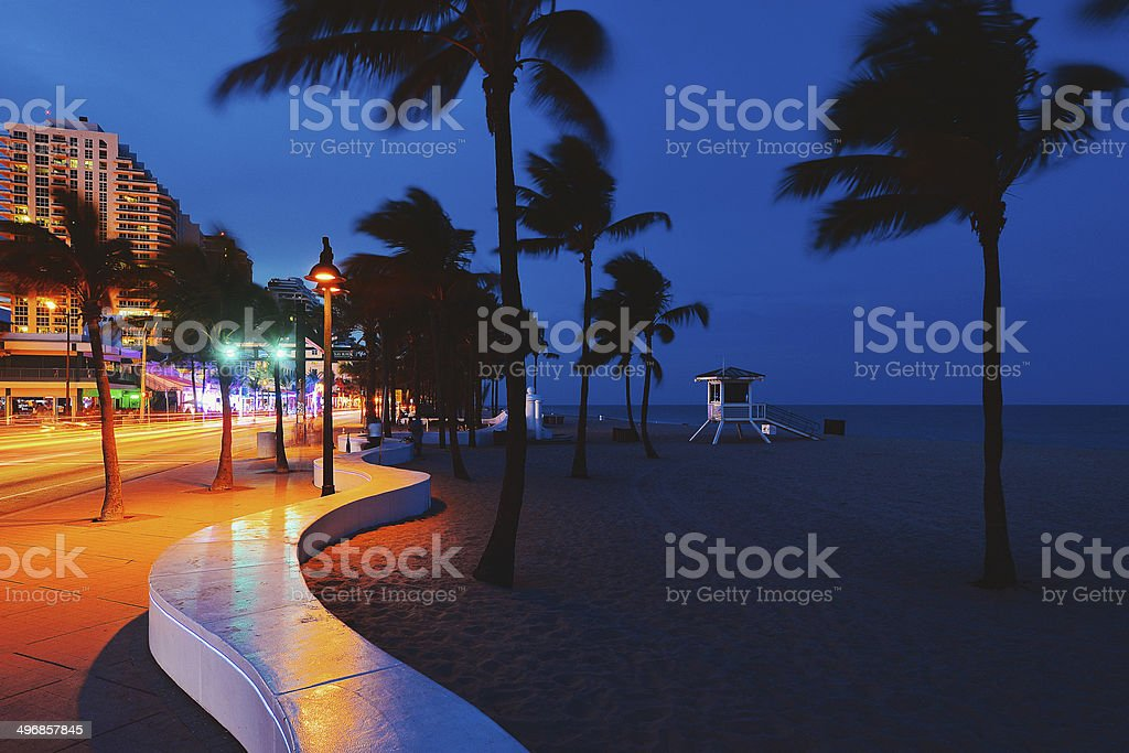 Fort Lauderdale Beach stock photo