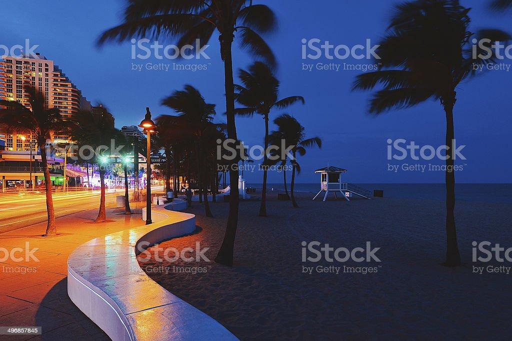 Fort Lauderdale Beach stock photo