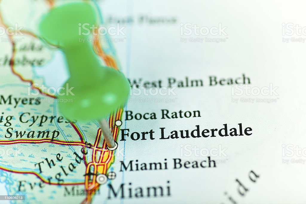 Fort Lauderdale, FL royalty-free stock photo