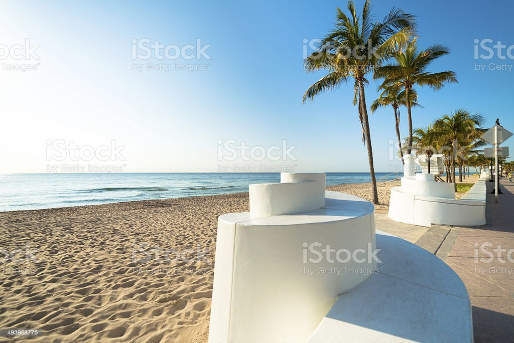 Fort Lauderdale Florida Beach stock photo