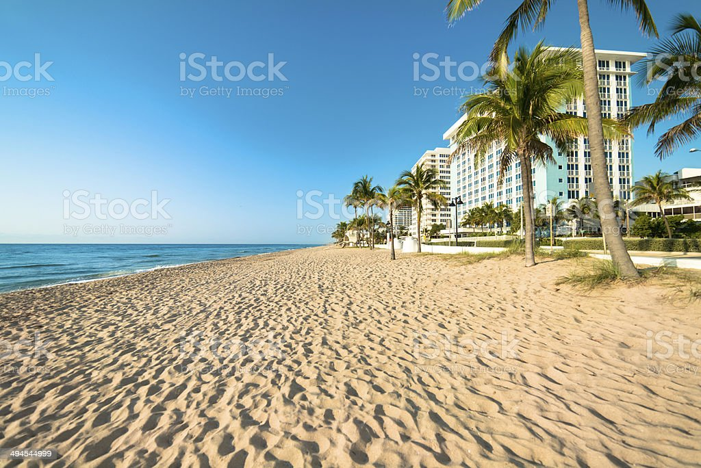 Fort Lauderdale Florida Beach stock photo