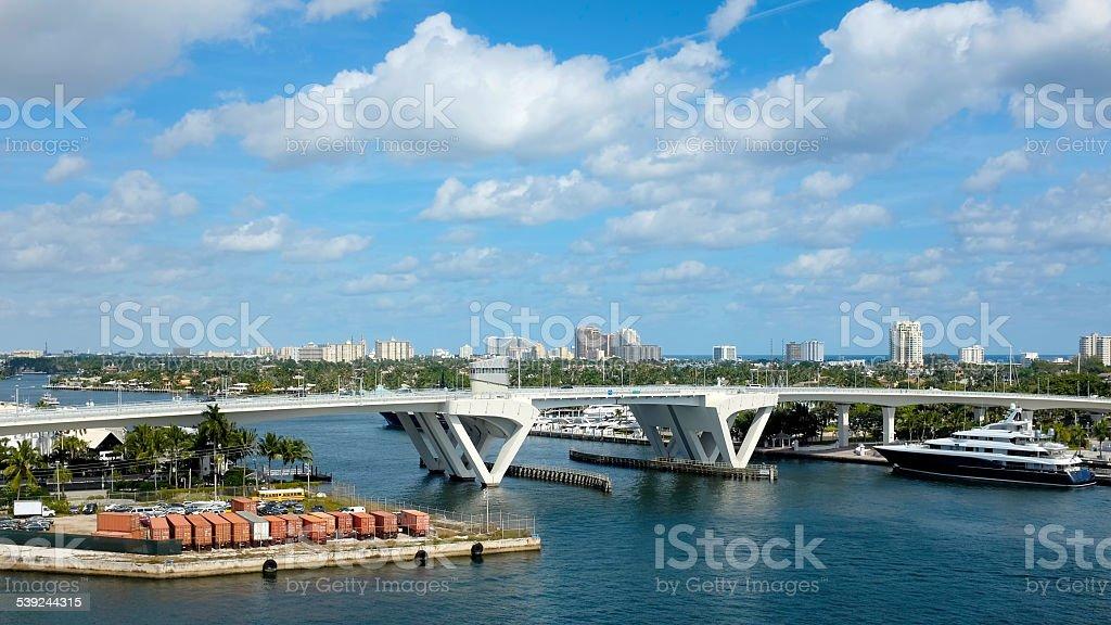 Fort lauderdale Florida stock photo