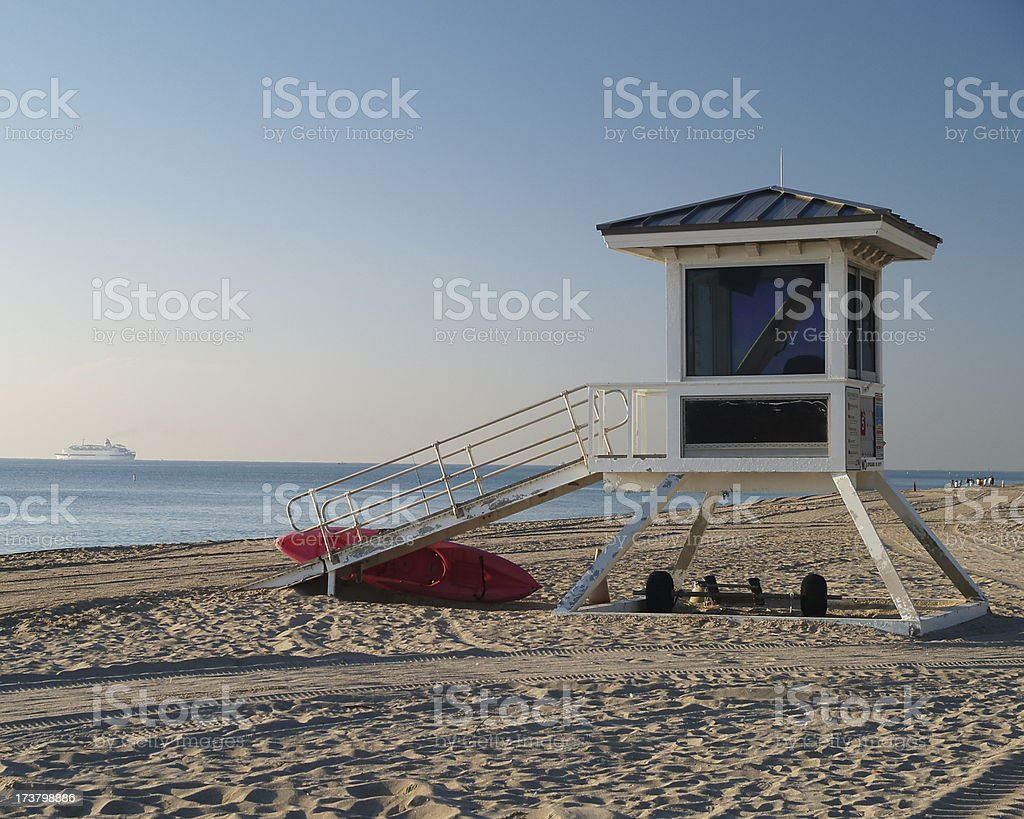 Fort Lauderdale morning #1 royalty-free stock photo