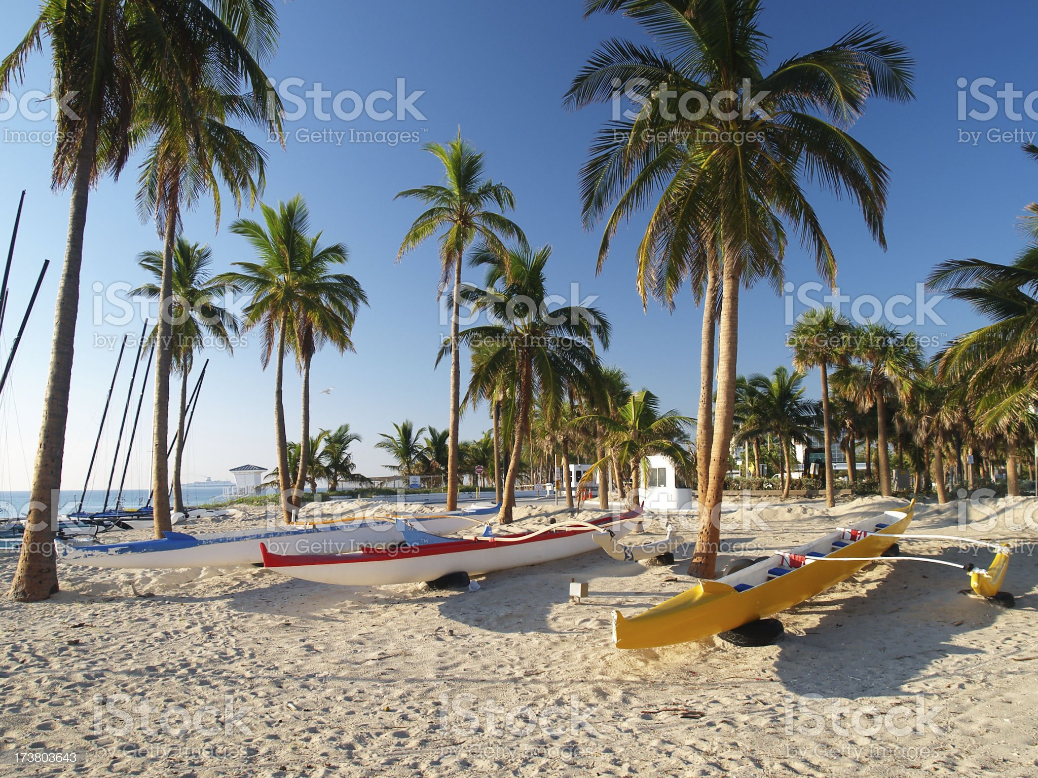 Fort Lauderdale morning #2 royalty-free stock photo