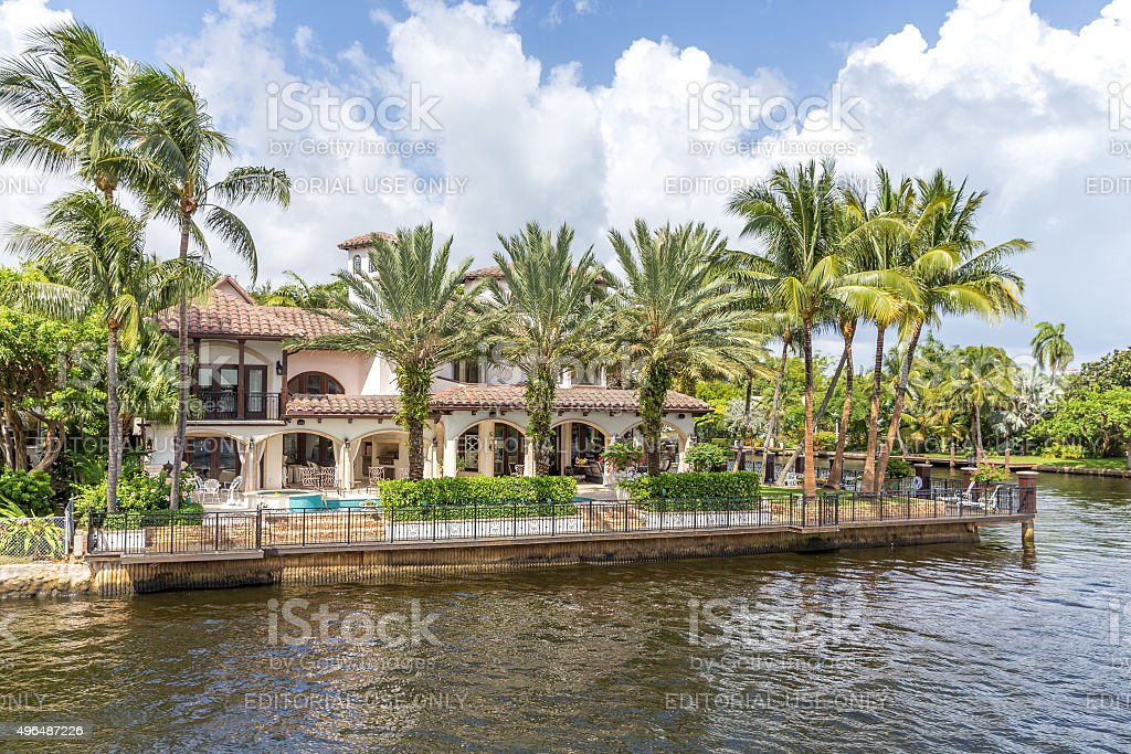 Fort Lauderdale, USA stock photo