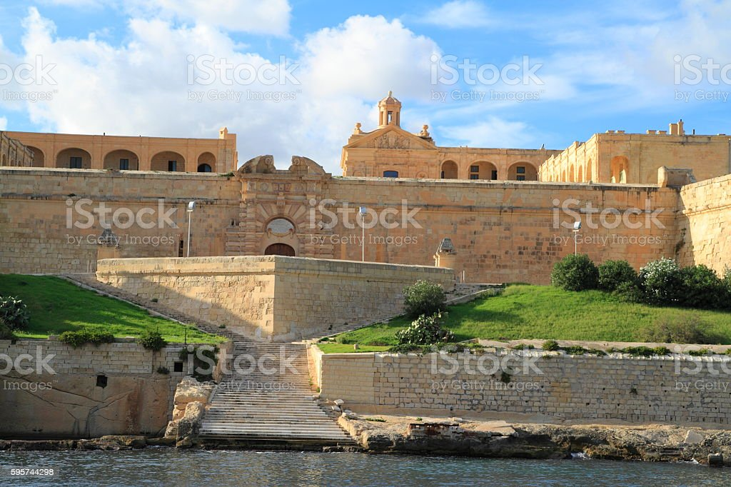 Fort Manoel  in Valletta, Malta stock photo