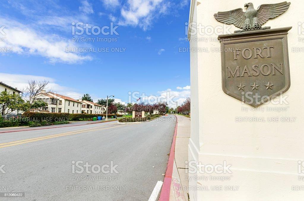 Fort Mason, San Francisco stock photo