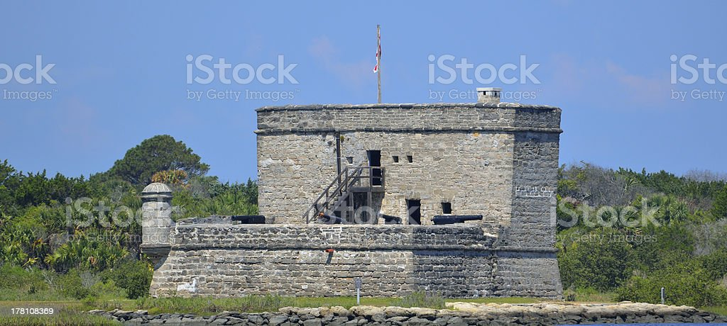 Fort Matanzas royalty-free stock photo