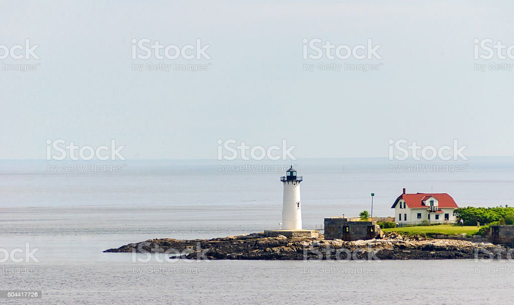 Fort McClary State Historic Site stock photo