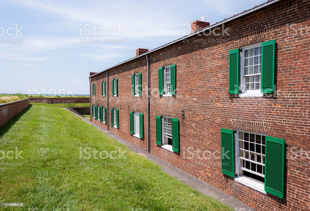 Fort McHenry in Baltimore, MD stock photo