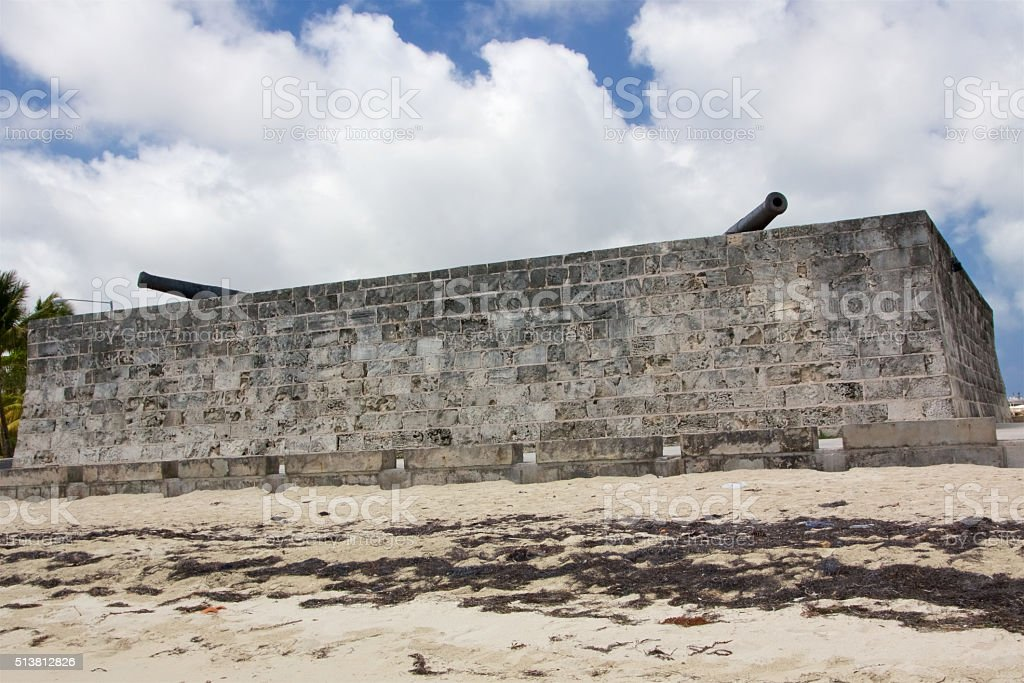 Fort Montagu stock photo