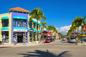 Fort Myers Beach Shopping District, Florida