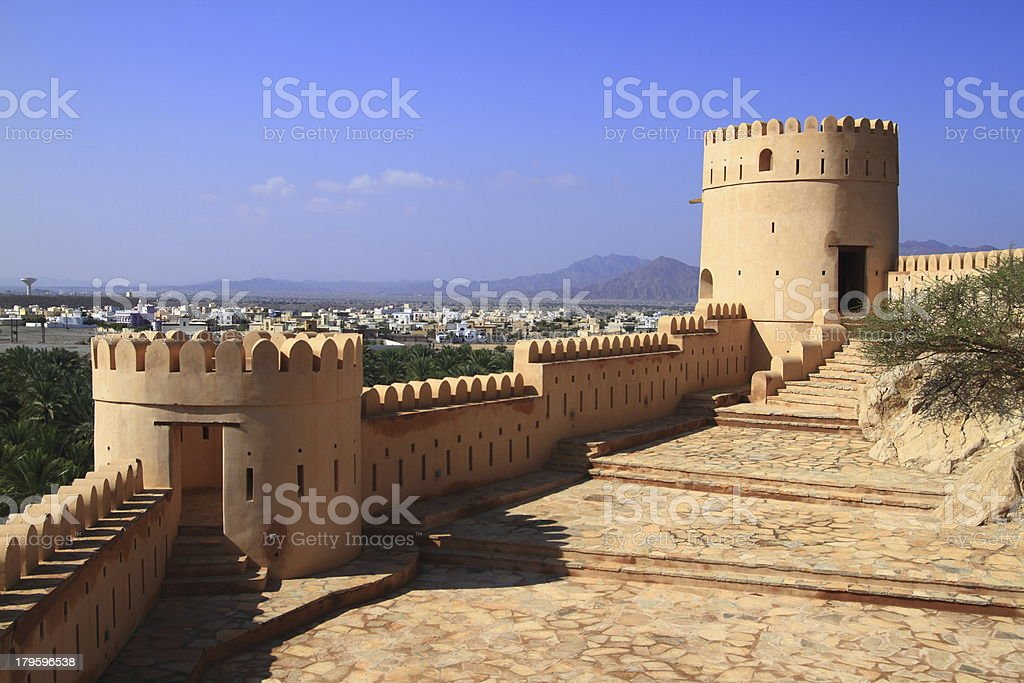Fort Nakhl stock photo