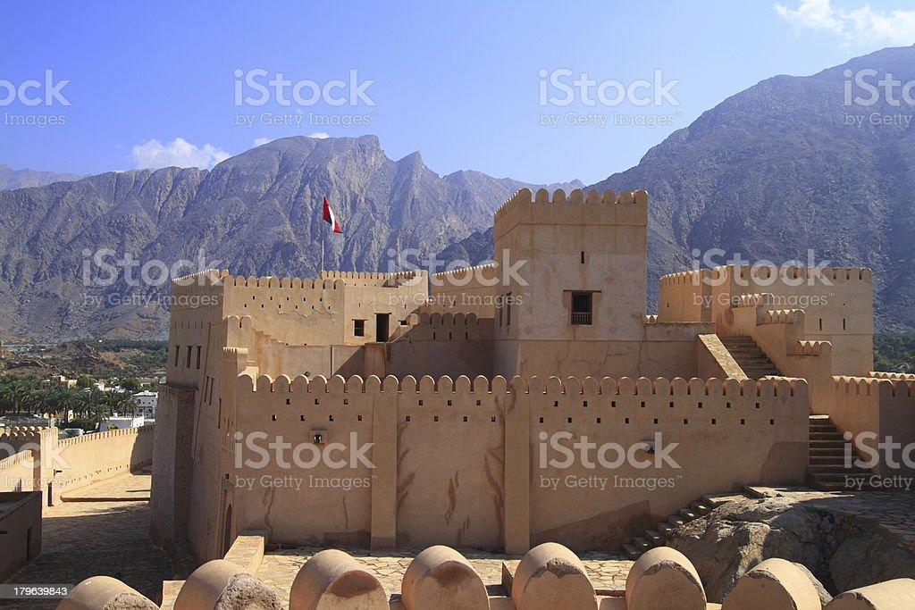 Fort Nakhl royalty-free stock photo
