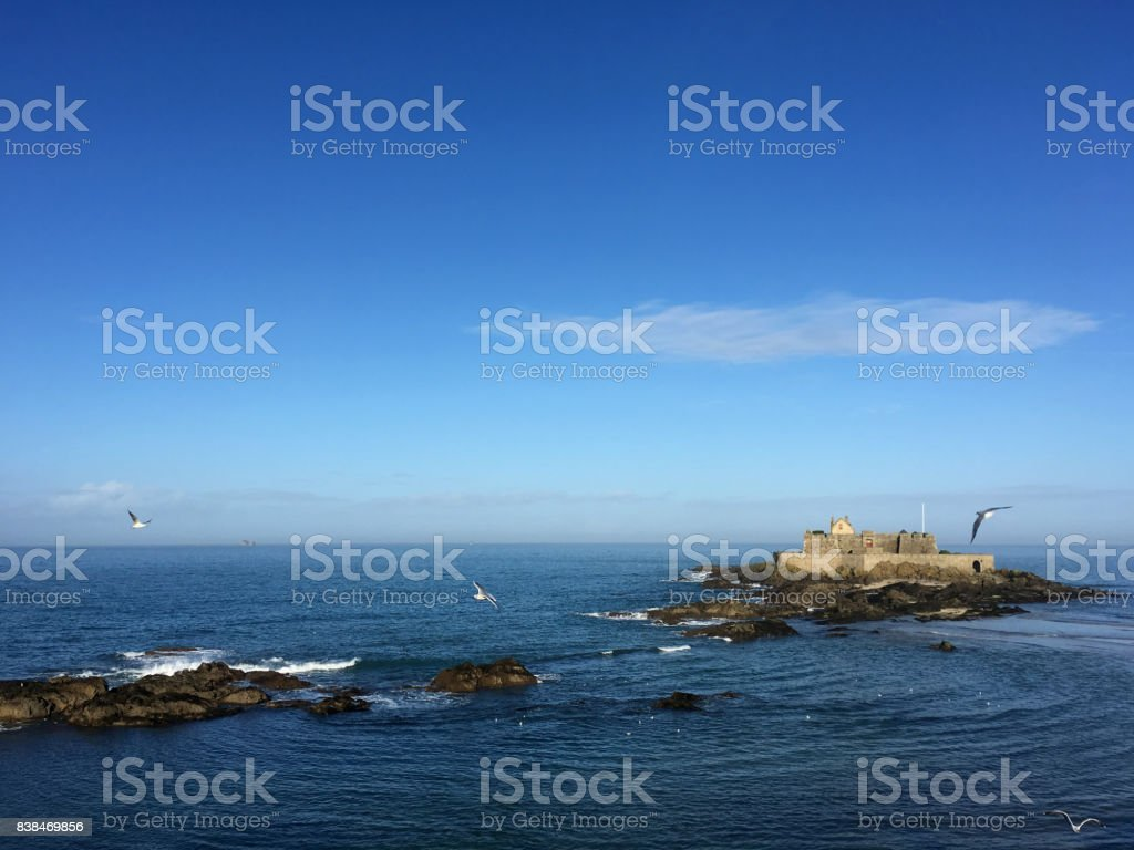 Fort National stock photo