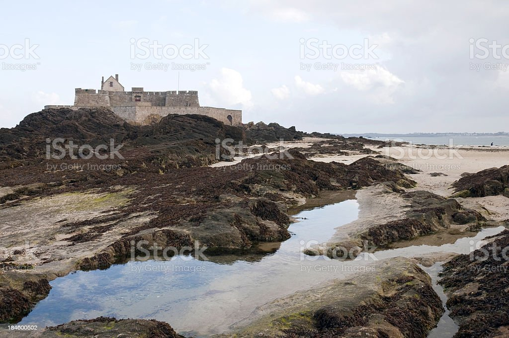 'Fort National, St-Malo' stock photo