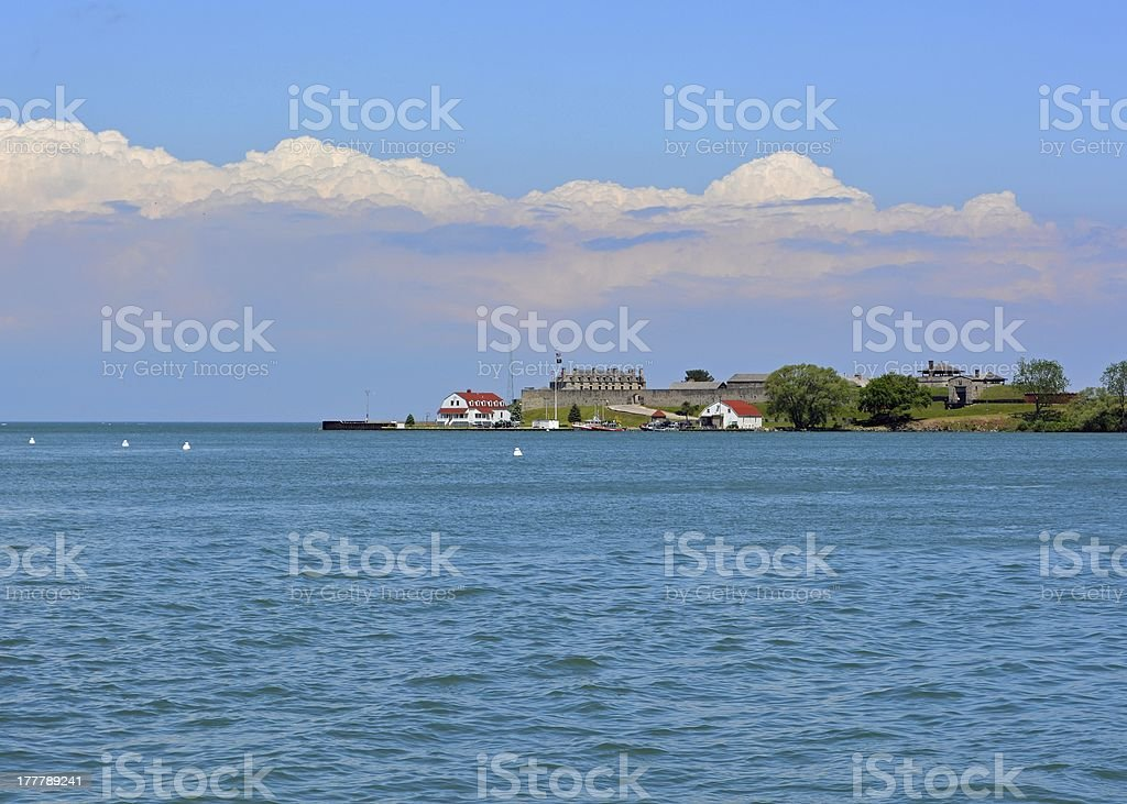 Fort Niagara State Park stock photo
