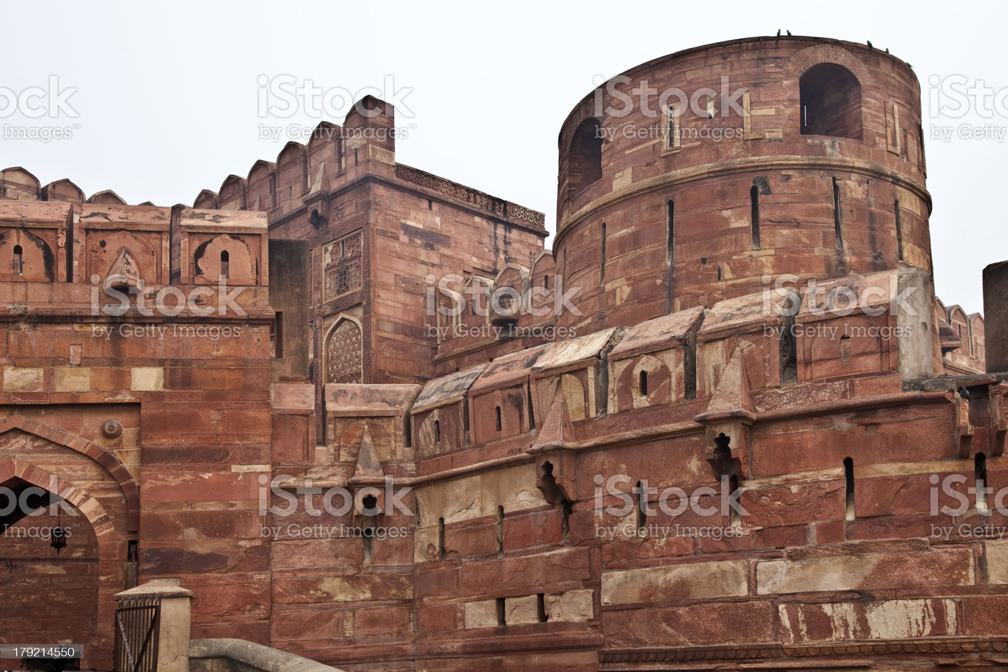 Fort of Agra, India royalty-free stock photo