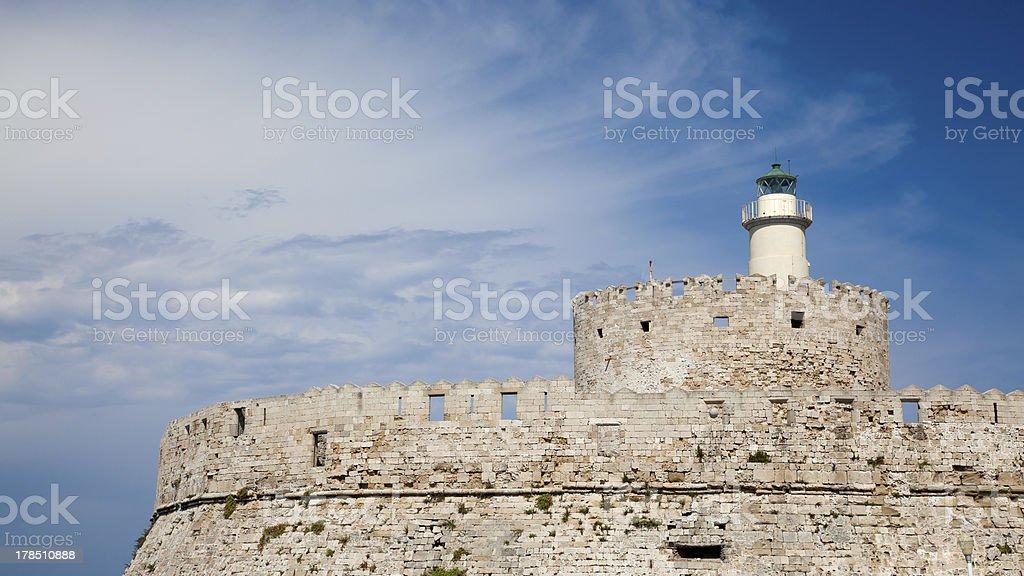 Fort Saint-Nicolas photo libre de droits