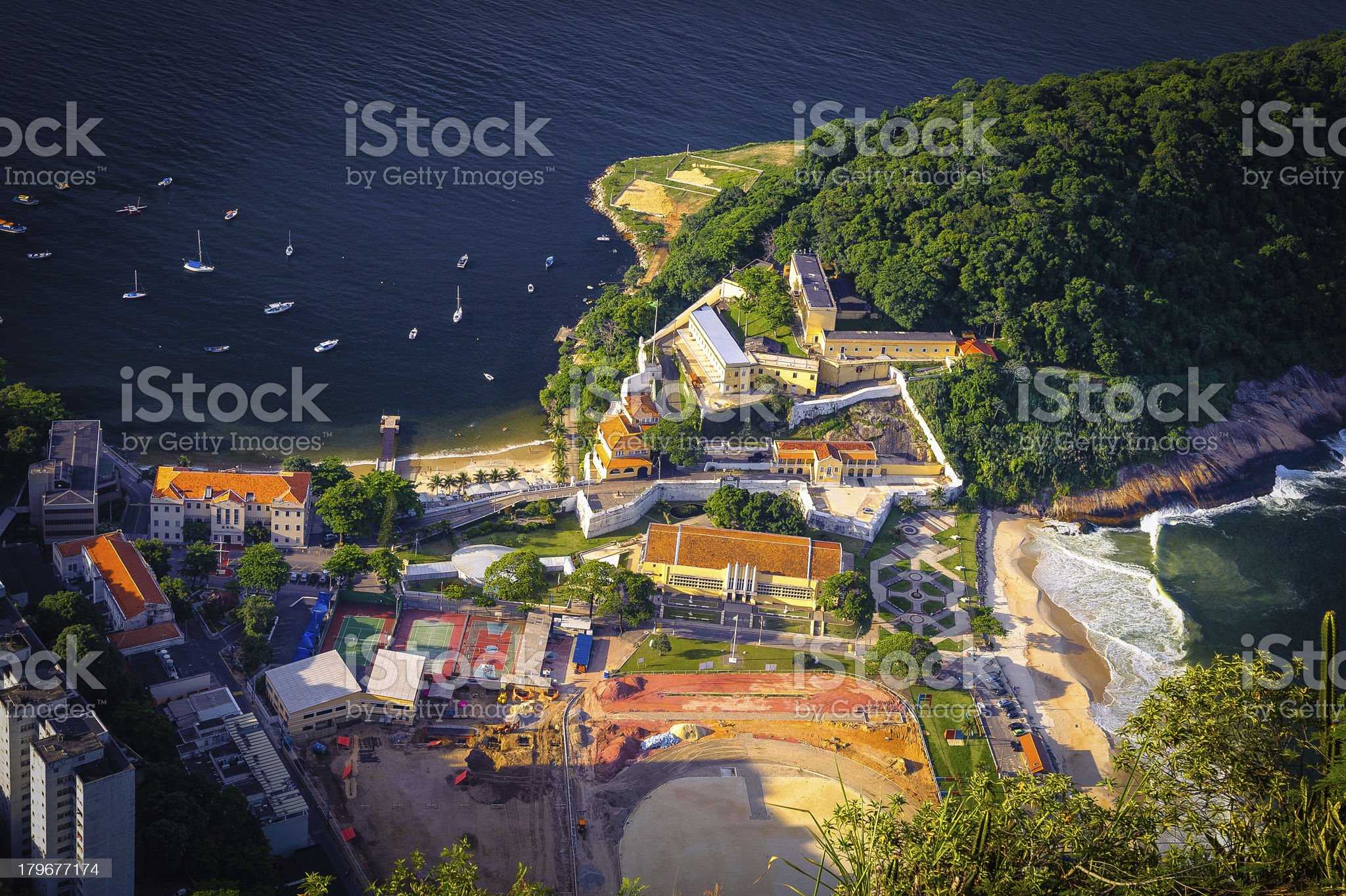 Fort of St. John royalty-free stock photo