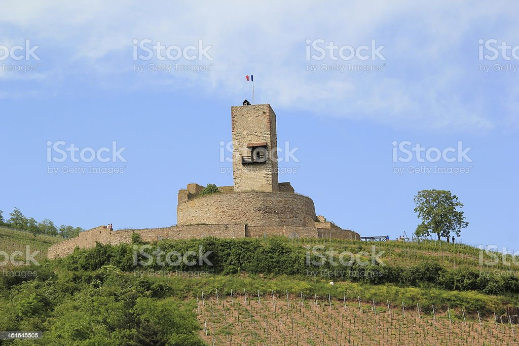 Fort of Wineck to Katzenthal royalty-free stock photo