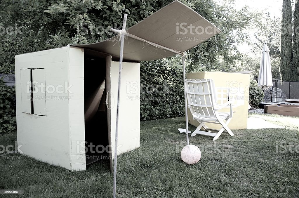 Fort stock photo
