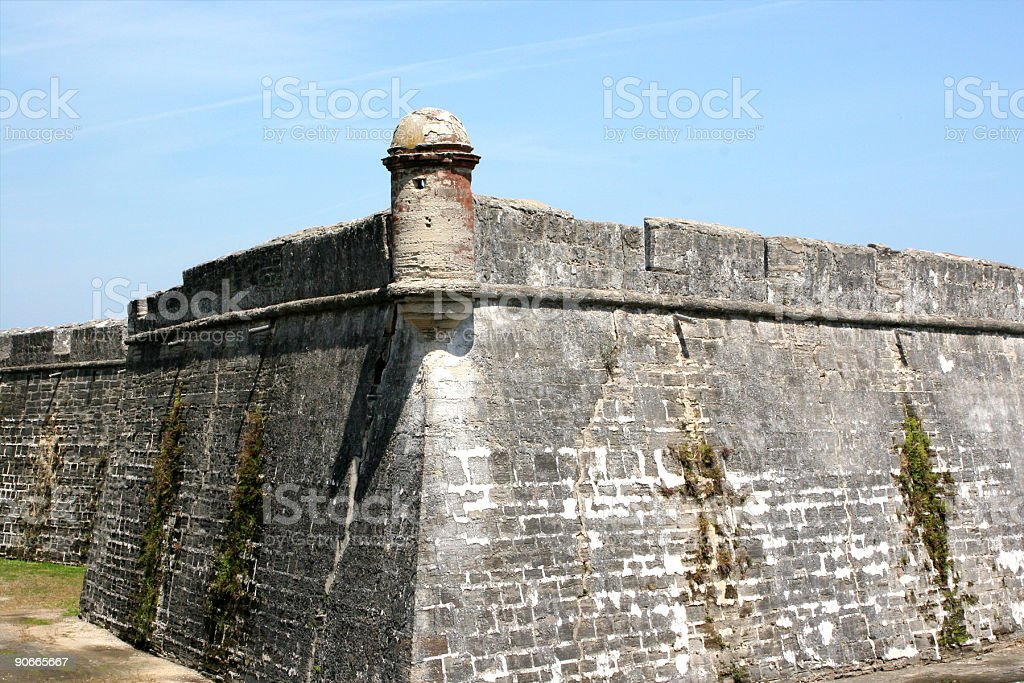 Fort royalty-free stock photo
