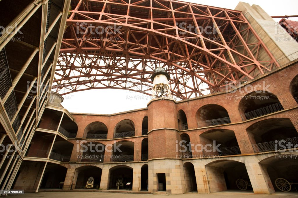 Fort Point stock photo