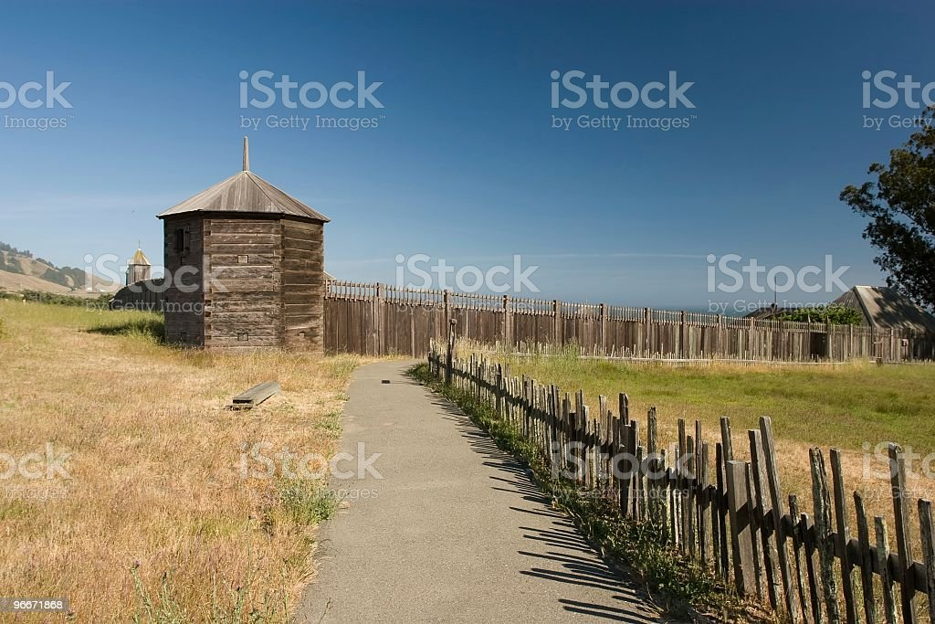 Fort Ross royalty-free stock photo
